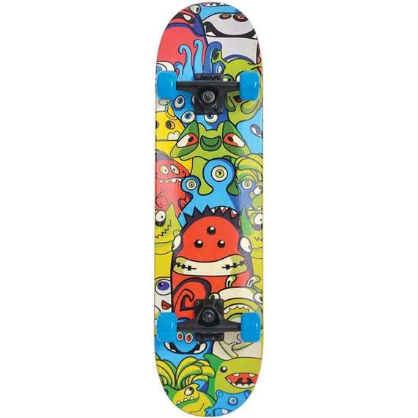 Deskorolka Schildkrot Slider Monster kolorowa 510642