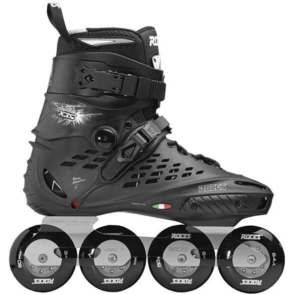 Łyżworolki Roces X35 TIF czarno-srebrne 400849 01